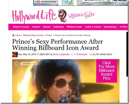 Iconic Billboard Prince
