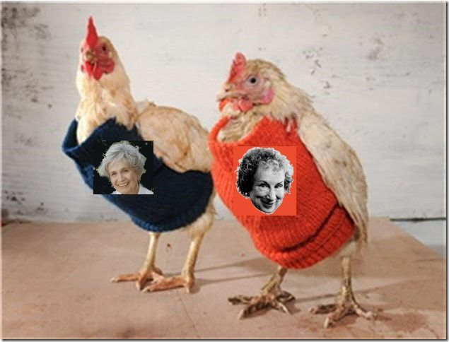 margaret and alice on chickens
