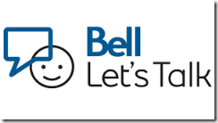 Bell Lets Talk logo