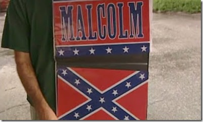 Chris Rock's Malcom X flag for south carolina